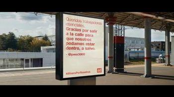 Ad Council TV Spot, 'Afuera por nosotros: Thanking Essential Workers' canción de Alicia Keys [Spanish] - Thumbnail 7