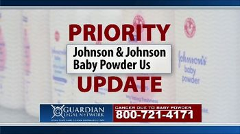 Guardian Legal Network TV Spot, 'Priority Update: Baby Powder Users' - Thumbnail 1