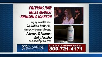 Guardian Legal Network TV Spot, 'Priority Update: Baby Powder Users' - Thumbnail 4