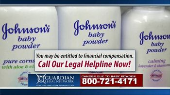 Guardian Legal Network TV Spot, 'Priority Update: Baby Powder Users' - Thumbnail 5
