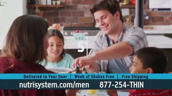 Nutrisystem for Men TV Spot, 'Doorbell: Probiotic Shakes'