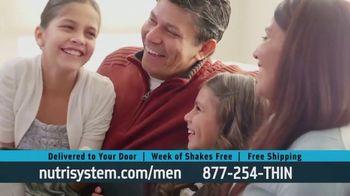 Nutrisystem for Men TV Spot, 'Doorbell: Probiotic Shakes' - Thumbnail 6