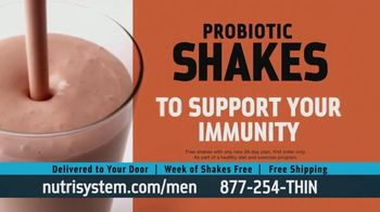 Nutrisystem for Men TV Spot, 'Doorbell: Probiotic Shakes' - Thumbnail 7