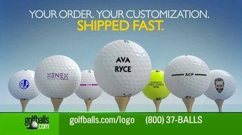 Golfballs.com TV Spot, 'Customize'