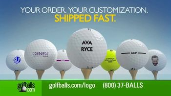 Golfballs.com TV Spot, \'Customize\'
