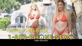 1-800-PHONE-SEXY TV Spot, 'No Summer Fantasy Vacation This Year'