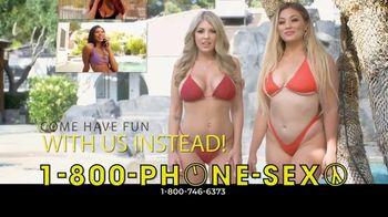 1-800-PHONE-SEXY TV Spot, 'No Summer Fantasy Vacation This Year' - Thumbnail 3