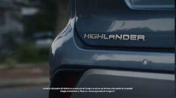 Toyota Highlander TV Spot, 'Allies' [Spanish] [T1]