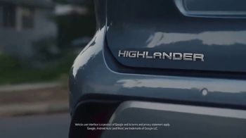 Toyota Highlander TV Spot, 'Allies' [T1] - Thumbnail 3