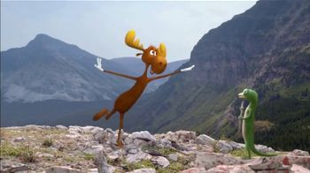 GEICO TV Spot, 'The Gecko Meets Rocky & Bullwinkle'