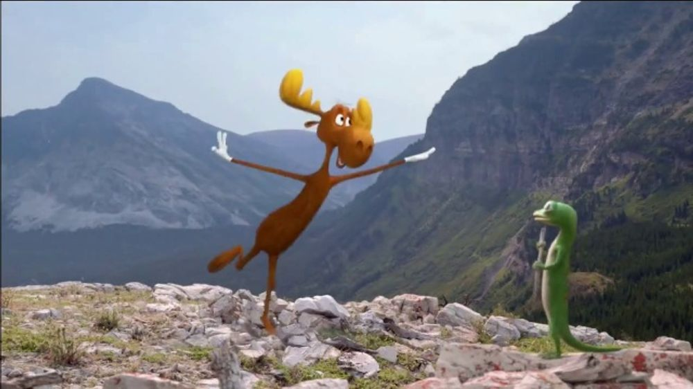 GEICO TV Commercial, 'The Gecko's Journey: Rocky Mountains'