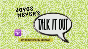 Joyce Meyer Ministries Talk It Out Podcast TV Spot, 'Release Everything to God' - Thumbnail 6