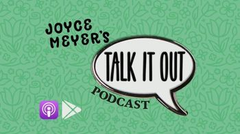 Joyce Meyer Ministries Talk It Out Podcast TV Spot, 'Release Everything to God' - Thumbnail 1