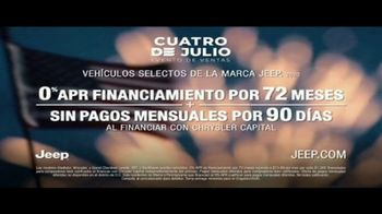 Jeep Cuatro de Julio Evento de Ventas TV Spot, 'Visión general' canción de Little Jesus [Spanish] [T2] - Thumbnail 9