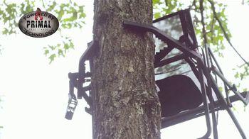 Primal Treestands Single Vantage 17' Deluxe Ladderstand TV Spot, 'Jaws'