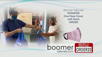 Boomer Naturals Multi-Use Protective Face Masks TV Spot, 'Ideal Face Cover' - Thumbnail 10
