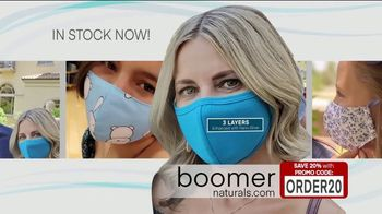 Boomer Naturals Multi-Use Protective Face Masks TV Spot, 'Ideal Face Cover' - Thumbnail 5