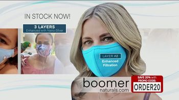 Boomer Naturals Multi-Use Protective Face Masks TV Spot, 'Ideal Face Cover' - Thumbnail 6