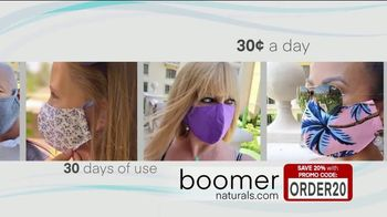 Boomer Naturals Multi-Use Protective Face Masks TV Spot, 'Ideal Face Cover' - Thumbnail 7