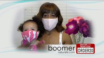 Boomer Naturals Multi-Use Protective Face Masks TV Spot, 'Ideal Face Cover'