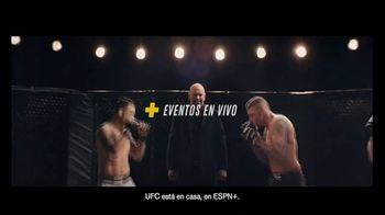 ESPN+ TV Spot, 'UFC está en casa' con Dana White [Spanish] - 26 commercial airings