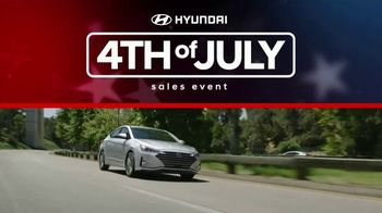 Hyundai 4th of July Sales Event TV Spot, 'Time to Shine' [T2] - 242 commercial airings