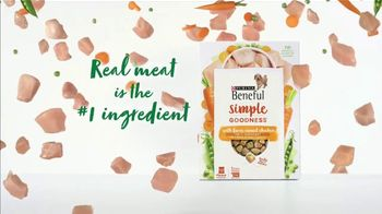 Purina Beneful Simple Goodness TV Spot, 'Real Meat: Variety of Products' - Thumbnail 5