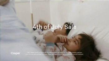 Casper 4th of July Sale TV Spot, 'The Coolest Mattress: 15 Percent' - Thumbnail 2