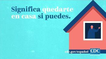 Centers for Disease Control and Prevention TV Spot, 'COVID 19: distanciamiento social' [Spanish] - Thumbnail 2