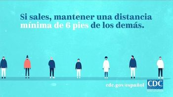 Centers for Disease Control and Prevention TV Spot, 'COVID 19: distanciamiento social' [Spanish] - Thumbnail 3