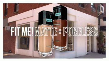 Maybelline New York Fit Me! Matte + Poreless Foundation TV Spot, 'Encuentra tu Fit' [Spanish] - Thumbnail 7