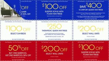 Rooms to Go July 4th Coupon Sale TV Spot, 'Bonus Coupons' - Thumbnail 6
