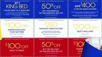 Rooms to Go July 4th Coupon Sale TV Spot, 'Bonus Coupons' - Thumbnail 7