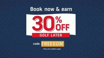 GolfNow.com TV Spot, 'Book Now, Golf Later' - Thumbnail 5