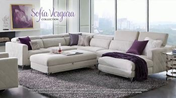 Rooms to Go July 4th Hot Buys TV Spot, 'Sofia Vergara Collection: Modern Four-Piece Sectional' - Thumbnail 4