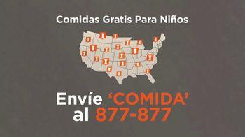 No Kid Hungry TV Spot, 'Comidas gratis' [Spanish] - Thumbnail 4