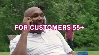 T-Mobile TV Spot, '55+ Customers Save 50 Percent: Two Lines for Less Than $30' - Thumbnail 1