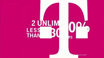 T-Mobile TV Spot, '55+ Customers Save 50 Percent: Two Lines for Less Than $30' - Thumbnail 5