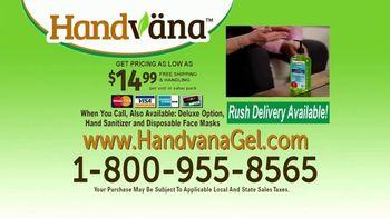 Handvana Hydroclean Hand Sanitizer TV Spot, 'Coconut Oil Base' - Thumbnail 9