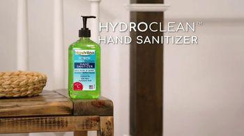 Handvana Hydroclean Hand Sanitizer TV Spot, 'Coconut Oil Base' - Thumbnail 2