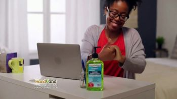 Handvana Hydroclean Hand Sanitizer TV Spot, 'Coconut Oil Base'