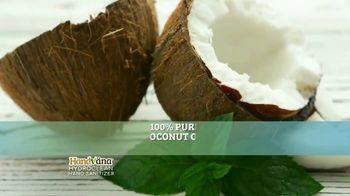 Handvana Hydroclean Hand Sanitizer TV Spot, 'Coconut Oil Base' - Thumbnail 5