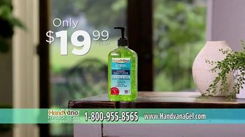Handvana Hydroclean Hand Sanitizer TV Spot, 'Coconut Oil Base' - Thumbnail 7