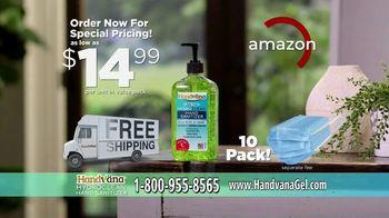Handvana Hydroclean Hand Sanitizer TV Spot, 'Coconut Oil Base' - Thumbnail 8