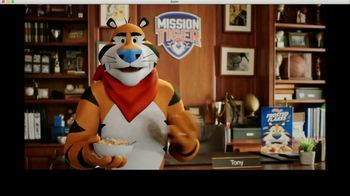 Frosted Flakes TV Spot, 'Mission Tiger: Tit-for-Tat' Featuring Shaquille O'Neal - Thumbnail 5