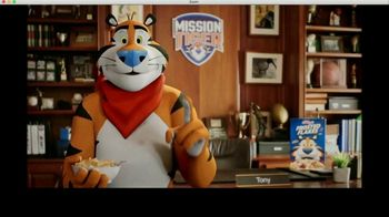 Frosted Flakes TV Spot, 'Mission Tiger: Tit-for-Tat' Featuring Shaquille O'Neal - Thumbnail 7