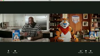 Frosted Flakes TV Spot, 'Mission Tiger: Tit-for-Tat' Featuring Shaquille O'Neal - Thumbnail 8