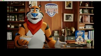 Frosted Flakes TV Spot, 'Mission Tiger: Tit-for-Tat' Featuring Shaquille O'Neal - Thumbnail 9