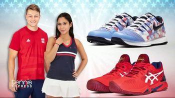 Tennis Express 4th of July Sale TV Spot, 'Extra Savings: Shoes, Apparel, Rackets & Tees' - Thumbnail 7