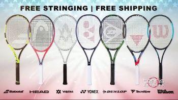 Tennis Express 4th of July Sale TV Spot, 'Extra Savings: Shoes, Apparel, Rackets & Tees' - Thumbnail 8